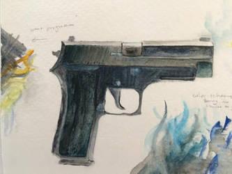 Gunpractice by falconblades