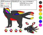 (WARRIORSONA) Deathstar ref!!!! by xXPsych0P0tat0Xx