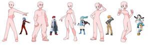 5 Pokemon trainer bases