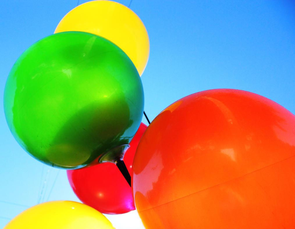 Balloons by Aristephanie