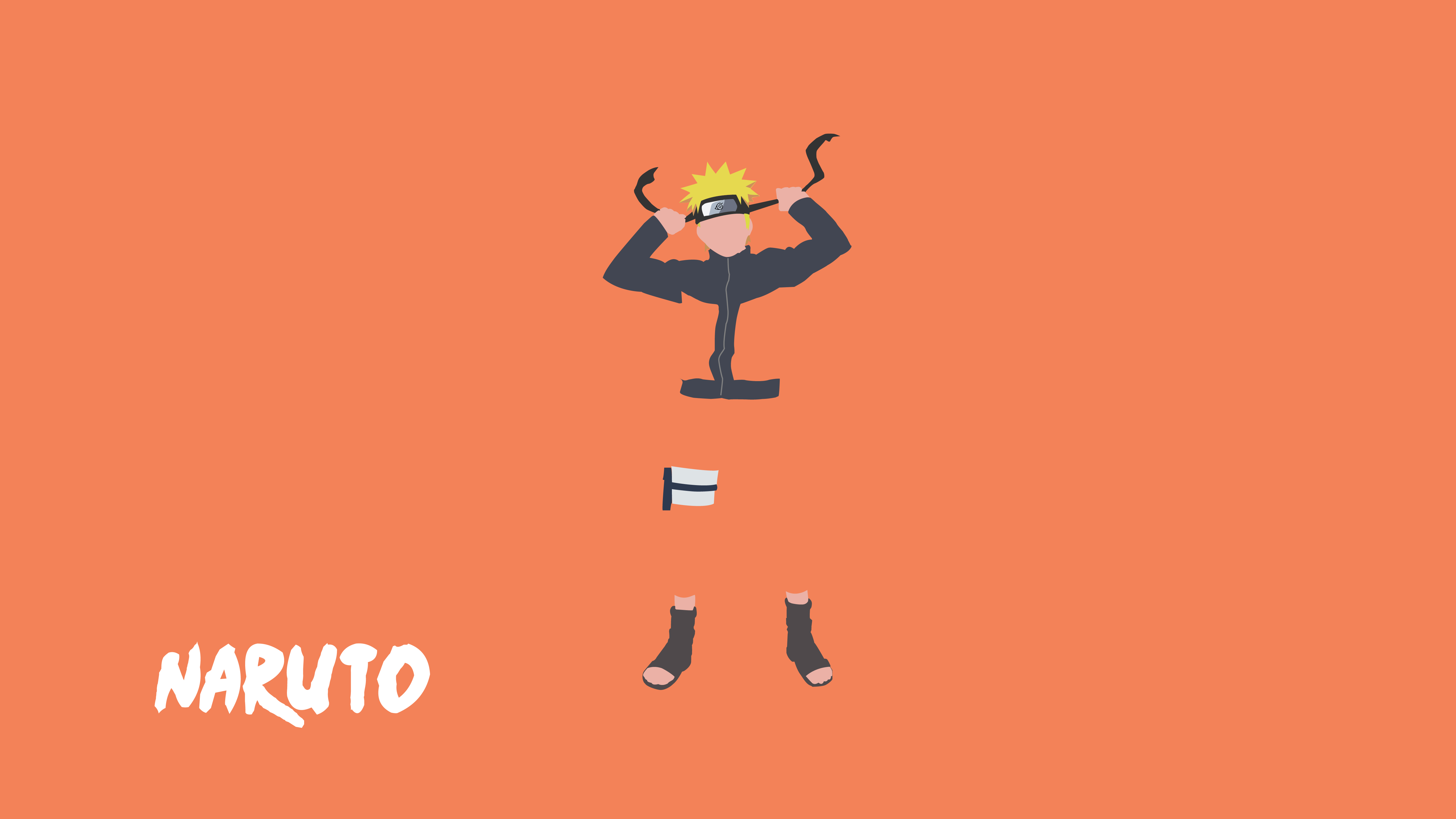 Most Inspiring Wallpaper Naruto Minimalistic - narutoflat_by_mehphistro-d8538o2  Best Photo Reference_711857.jpg