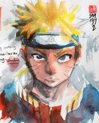 Naruto by RDelacroix