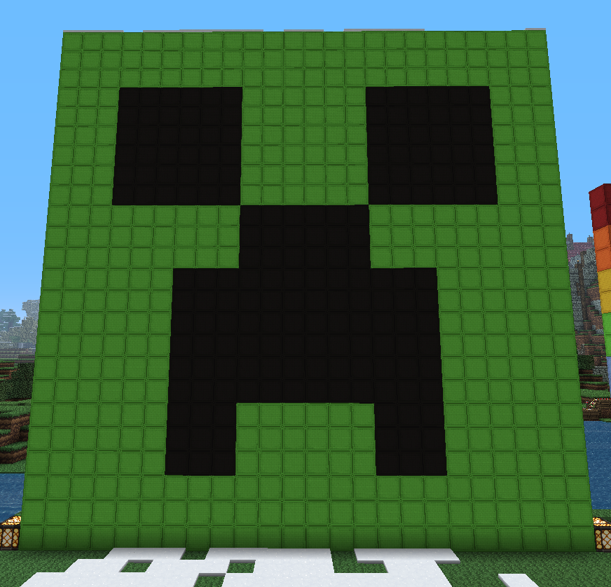 Minecraft Pixel Art: Creeper by KAWAII-PANDA-SAN on DeviantArt