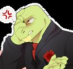 Angry lizard papi