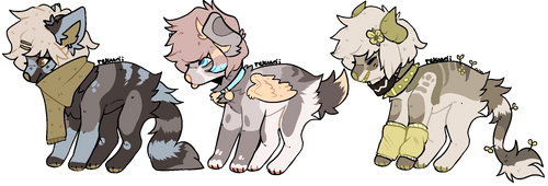Doggos! \ POINT ADOPTS \ OPEN by stariitea