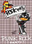 Punk bird?