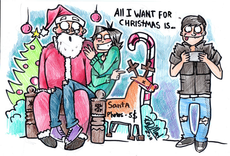 All I want for Christmas is .. by dragon-flies on DeviantArt