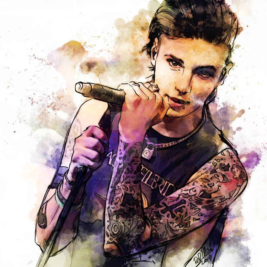 Andy Watercolor by dragon-flies