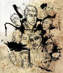 Gerard Black Parade Way - sketch by dragon-flies