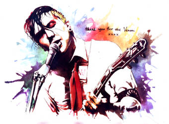 Thank you for Frank Iero by dragon-flies