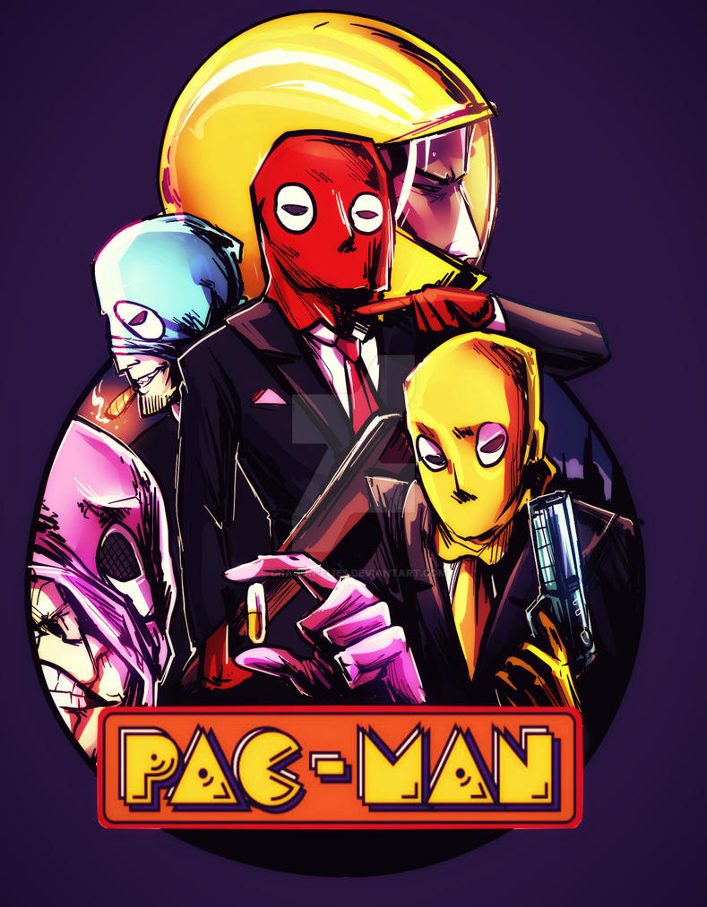 Pac-man the movie by dragon-flies
