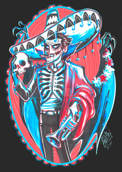 day of the dead by dragon-flies