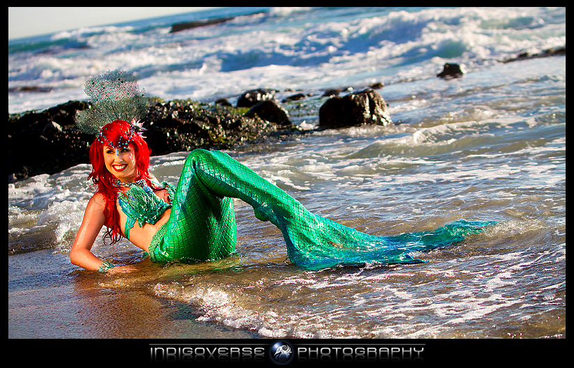 Playful Siren by TheRealLittleMermaid