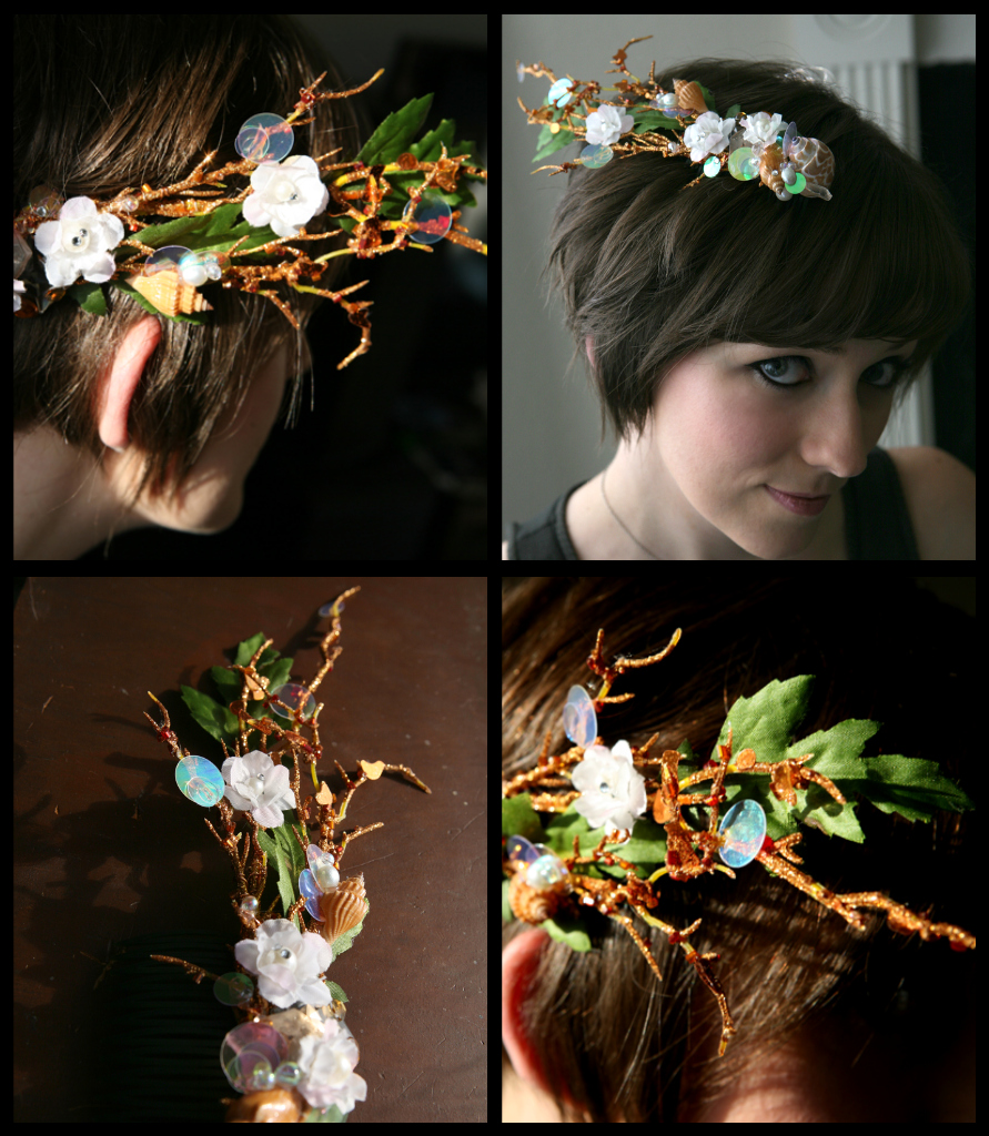 Sea Nymph Hair Comb By Thereallittlemermaid On Deviantart