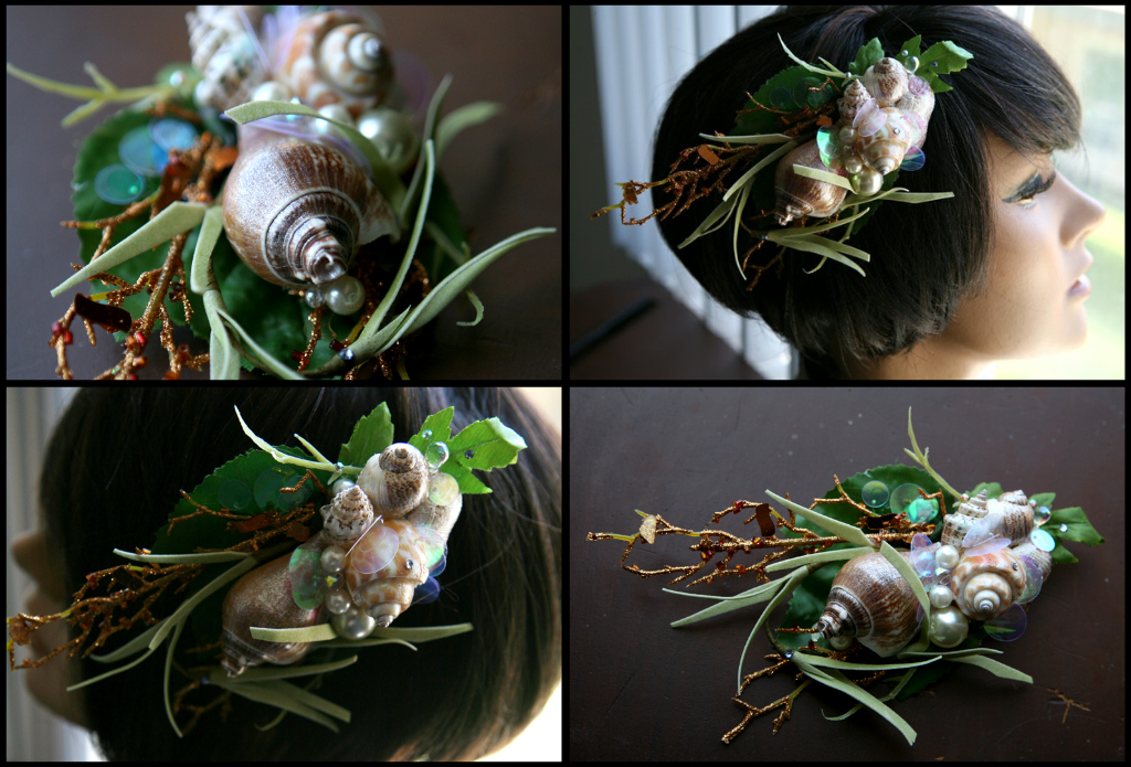 Kelp Forest Hair Fascinator by TheRealLittleMermaid