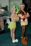 Tink and Terrence at Comic-con