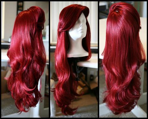 Little Mermaid Inspired Wig