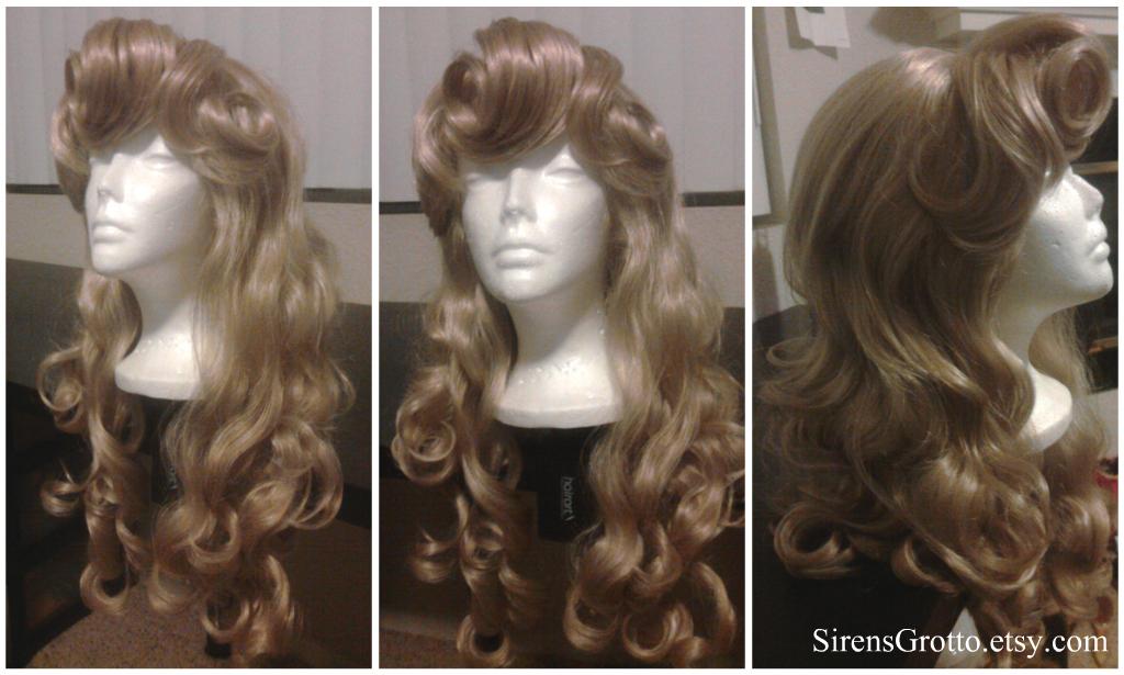 Sleeping Beauty Wig By Thereallittlemermaid On Deviantart