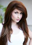 Traci Hines (brunette!)