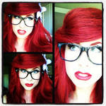 I did it first...Hipster Ariel