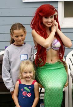 Little Mermaid @ a FISHING DERBY?!