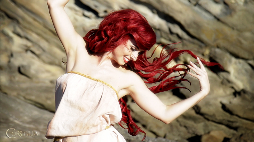 Little Mermaid Sail Dress screencap by TheRealLittleMermaid