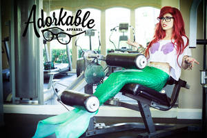 Adorkable Work Out by TheRealLittleMermaid