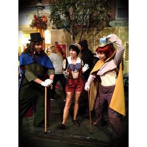 Disney's Pinocchio...at Disneyland!