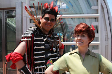 Rufio and Pan SDCC 2014