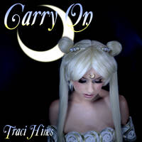 Carry On album art (Traci Hines as Sailor Moon)
