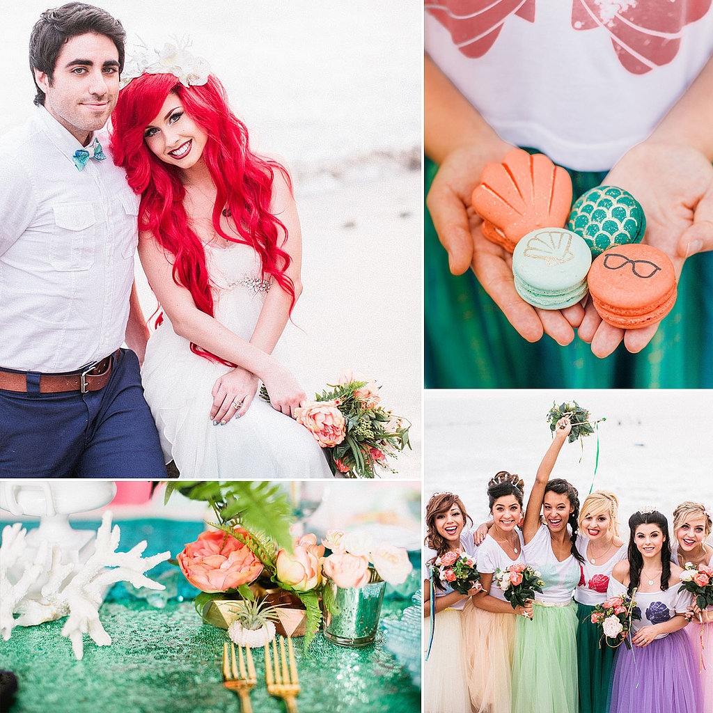 Hipster Ariel Wedding | Living Faerie
