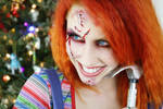 Chucky for Christmas (Ghoul Girls) by TheRealLittleMermaid