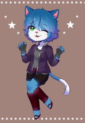 [C] Kate the Cat  by Unrequited-Art