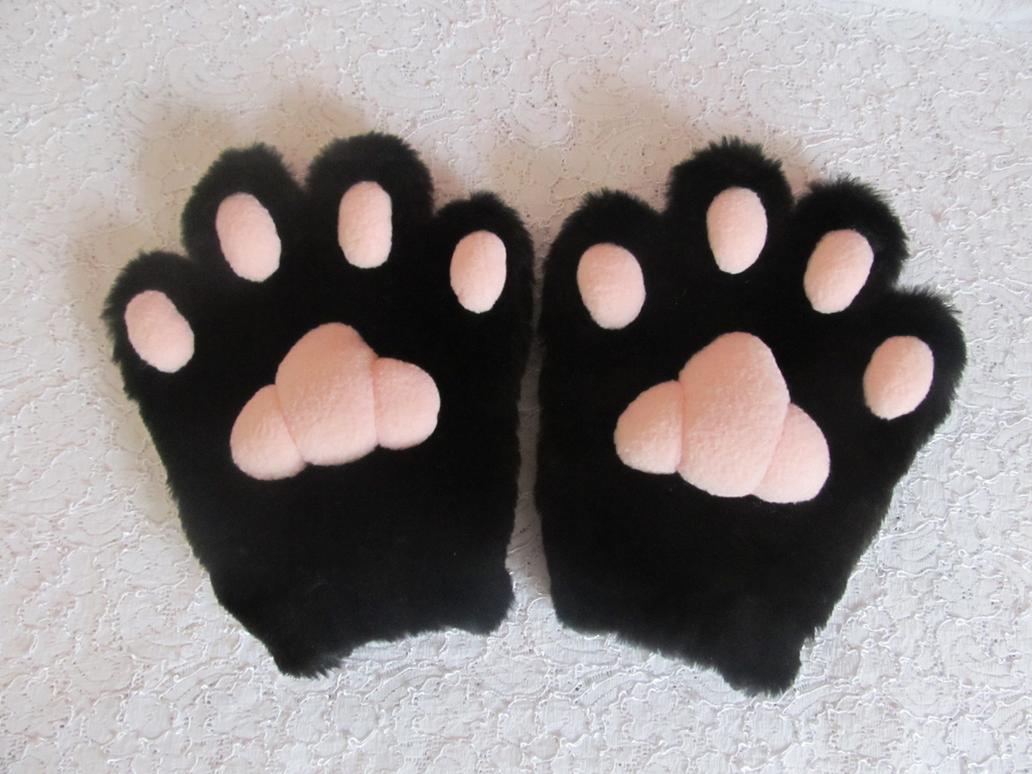 Как сделать кошачьи лапки своими руками