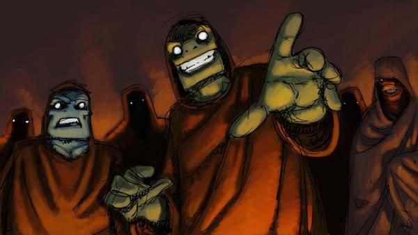 Ktulu Storyboard frame by monstah