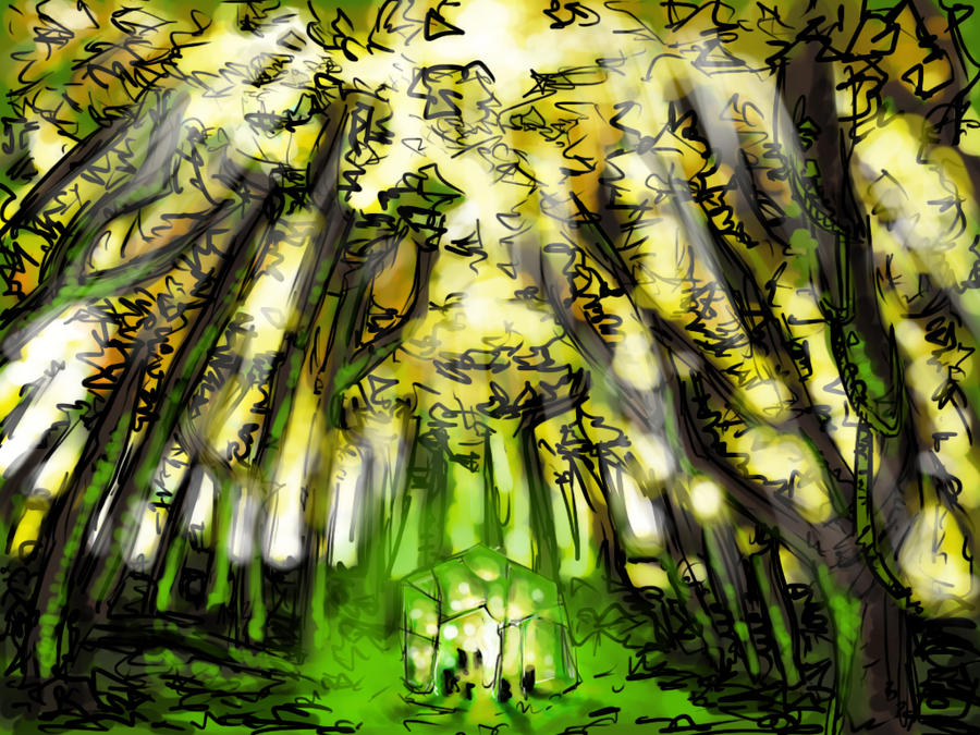 Green Crystal Node by monstah