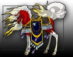 Feu'Alev in Arabian Costume by Tiyger
