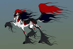 HARPG: Tribal-harl stallion by Tiyger