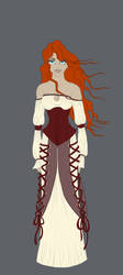 Story: Red Head peasant girl by Tiyger