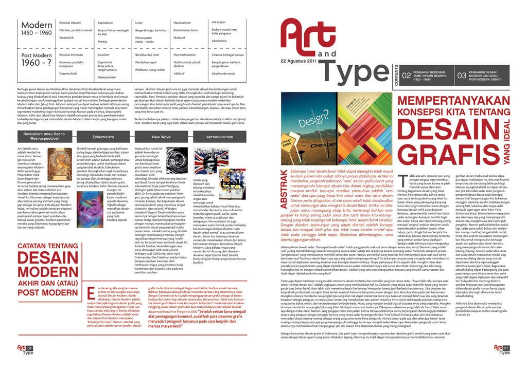 art and type newsletter 1 by yuniichristine on DeviantArt