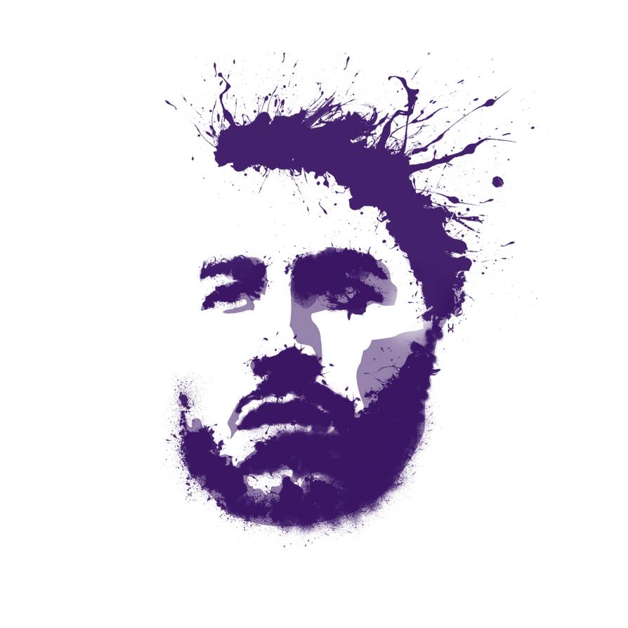 Sergio Ramos Splatter by TheNDR
