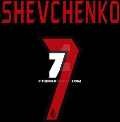 Shevchenko 7 Milan Kit Vector