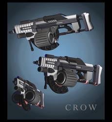 Crow by malmida