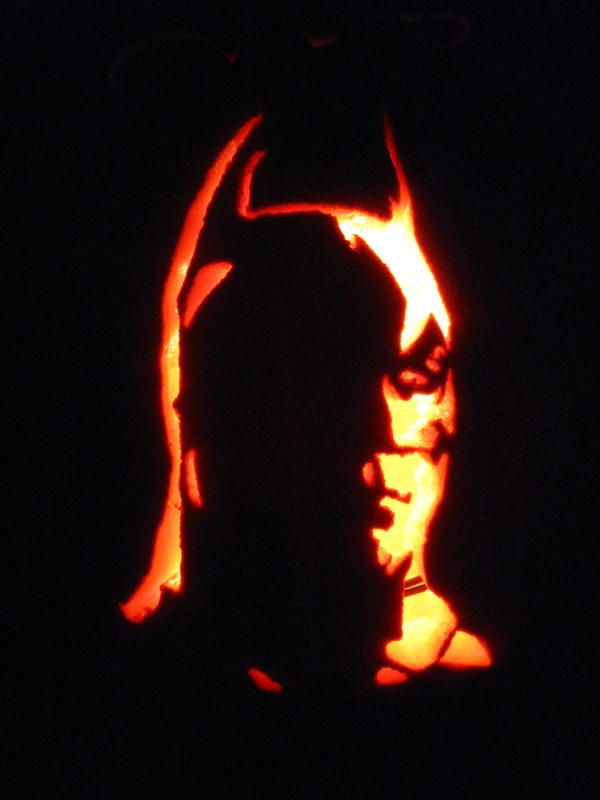 The gallery for gt dark knight pumpkin carving
