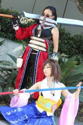 Yuna and her Guardian by BeautifulDragon