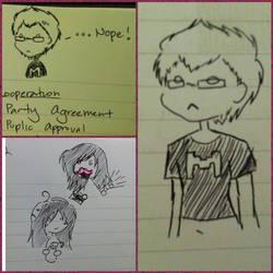 Markiplier Doodles by BeautifulDragon