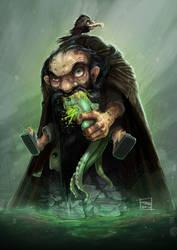 Gollum-dwarf mix