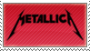 Metallica stamp by proglamer