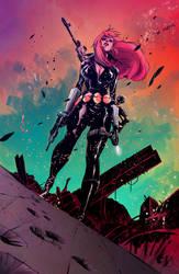 Colours for Matteo Scalera's - Black Widow