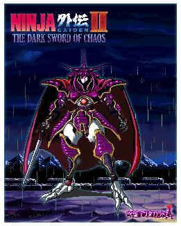 Ninja Gaiden The Dark Sword of Chaos by MizunaAlitomy